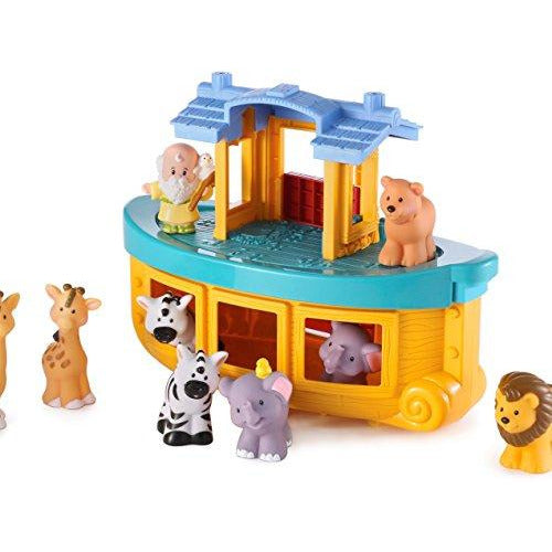 Fisher-Price World of Little People Touch & Feel Noah's Ark