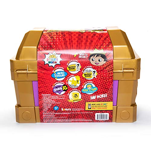 Ryan's World Sir Ryan Mystery Chest - Leeval Shop Direct