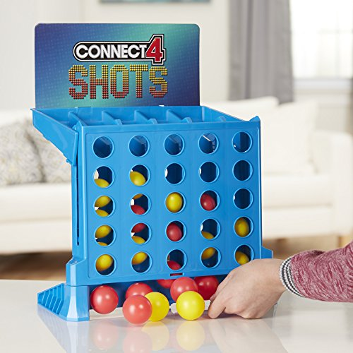 Hasbro Gaming Connect 4 Shots Game - Leeval Shop Direct