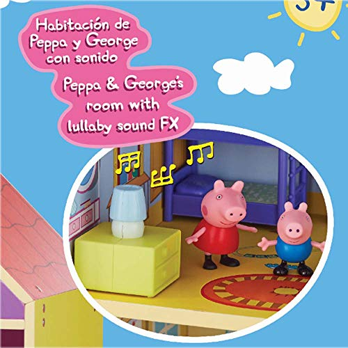 Peppa Pig Wooden Playhouse - Leeval Shop Direct