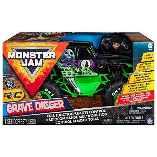 Monster Jam RC Grave Digger 1/15th Scale - Leeval Shop Direct