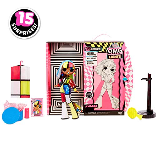 L.O.L. Surprise! O.M.G. Lights Angles Fashion Doll - Leeval Shop Direct