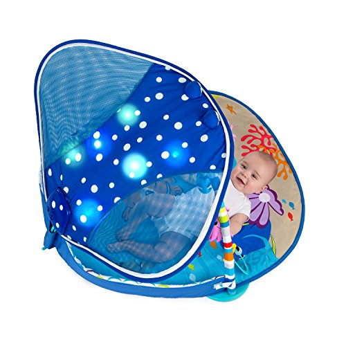 Disney Baby Mr. Ray Ocean Lights Activity Gym - Leeval Shop Direct