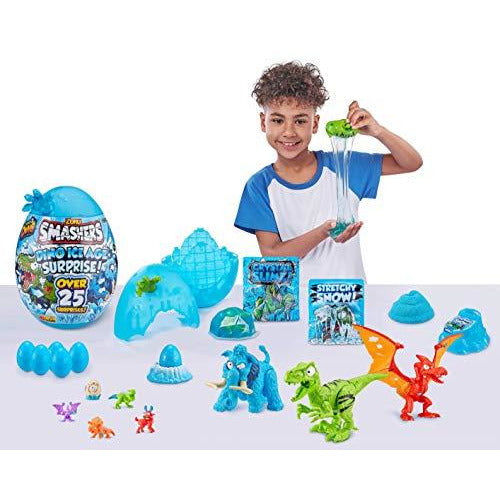 SMASHERS Dino Ice Age Surprise Giant Egg Asst