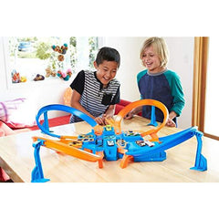 Hot Wheels Criss Cross Crash Playset - Leeval Shop Direct