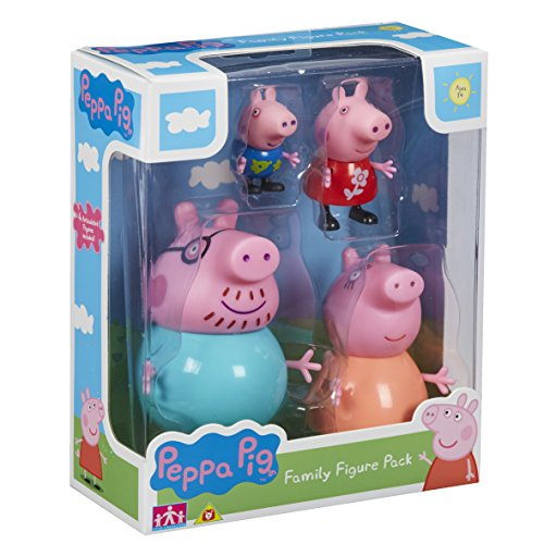 Peppa Pig Family Figures Pack - Leeval Shop Direct