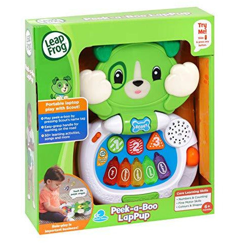 Leap Frog Peek-a-Boo LapPup Scout - Leeval Shop Direct