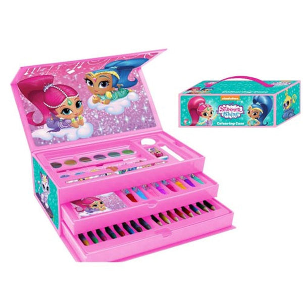 Shimmer and Shine 52 Piece Stationery & Art Set - Leeval Shop Direct