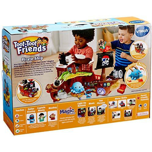 VTech Toot-Toot Friends Kingdom Pirate Ship - Leeval Shop Direct
