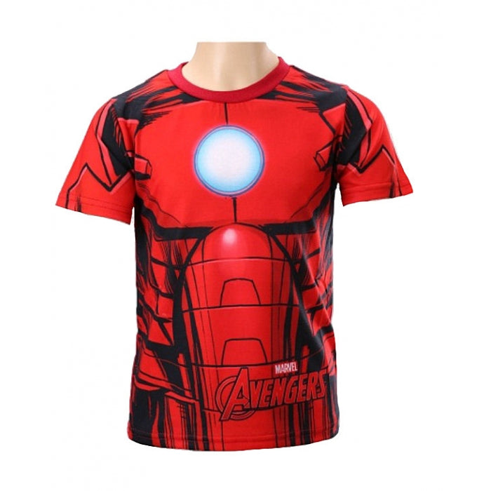Marvel Avengers Iron Man T Shirt - Leeval Shop Direct