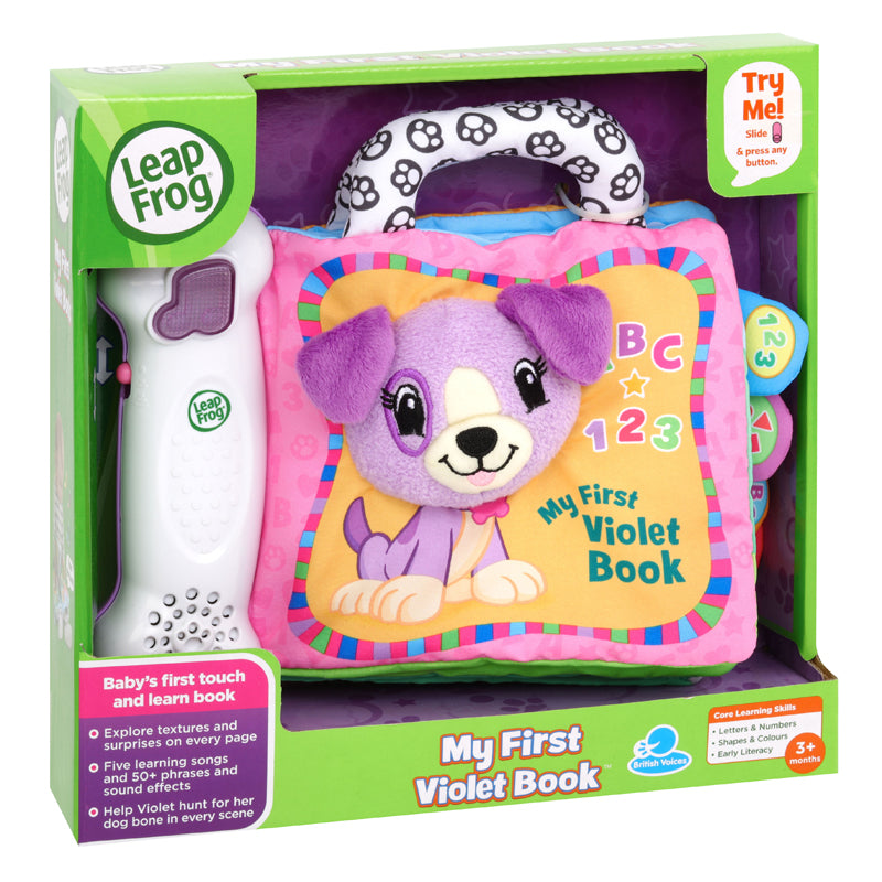 Leap Frog My First Violet & Friends Book - Leeval Shop Direct