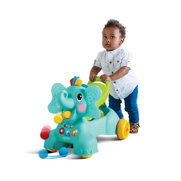 Infantino 3-in-1 Sit, Walk & Ride Elephant - Leeval Shop Direct