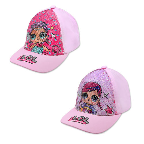 LOL SURPRISE SEQUIN BASEBALL CAP - Leeval Shop Direct