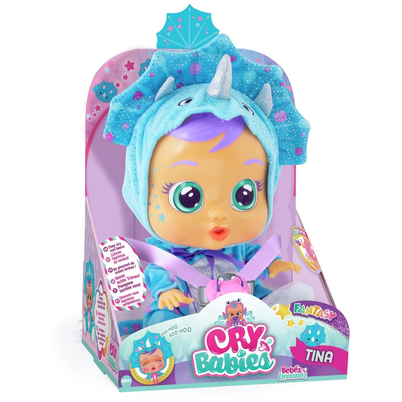 Cry Babies Tina Doll - Leeval Shop Direct