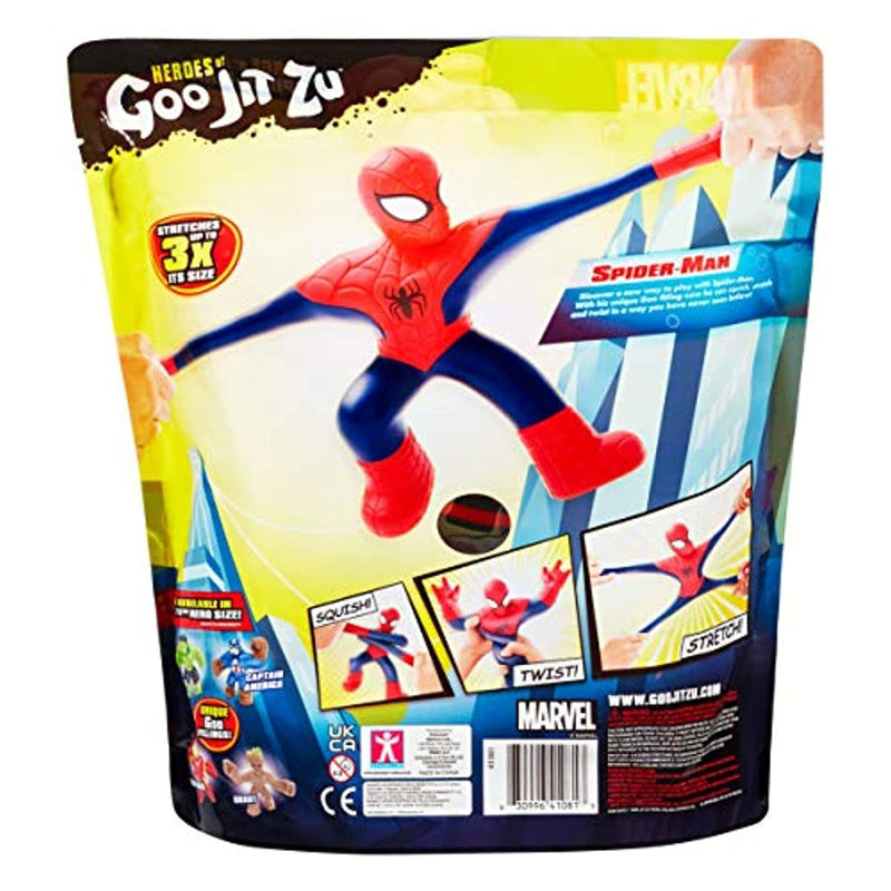 Marvel Heroes of Goo Jit Zu Spiderman - Leeval Shop Direct