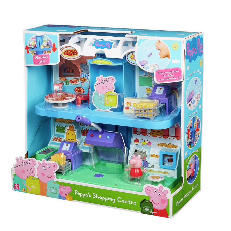 Peppa Pig Shopping Centre Playset - Leeval Shop Direct