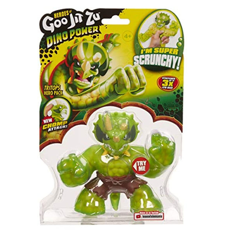 Heroes of Goo Jit Zu 41091 TRITOPS The Triceratops - Leeval Shop Direct