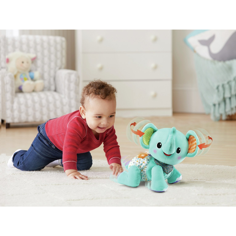 VTech Crawl with me Elephant Activity Toy - Leeval Shop Direct