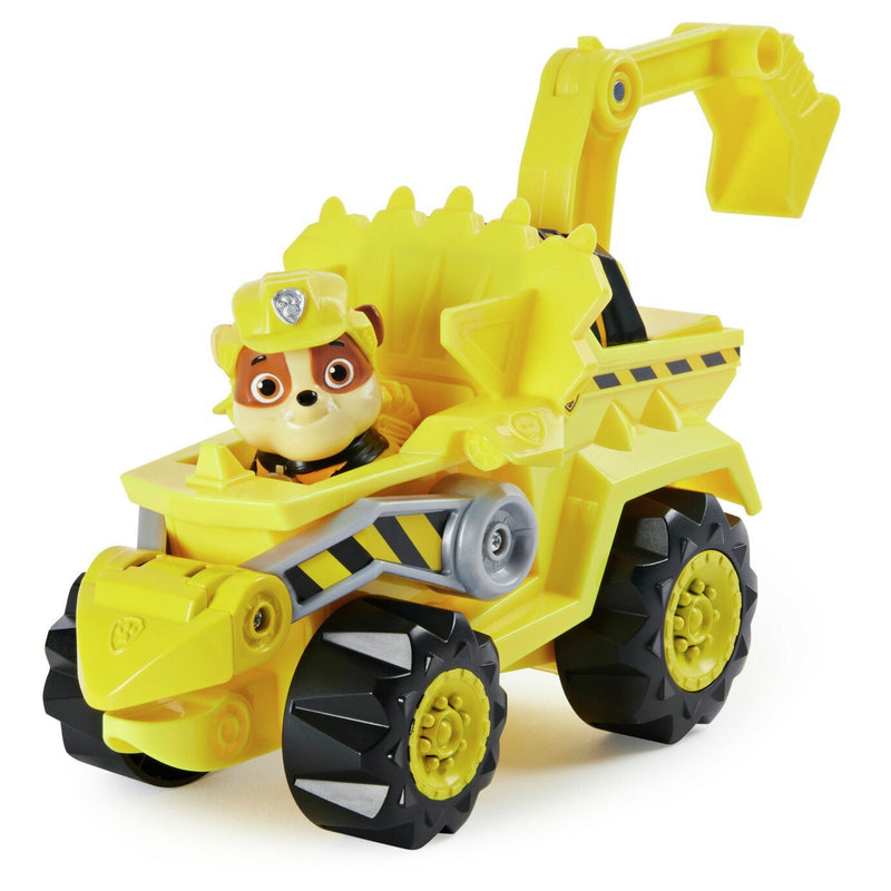 PAW Patrol Dino Rescue Rubble's Deluxe Vehicle - Leeval Shop Direct
