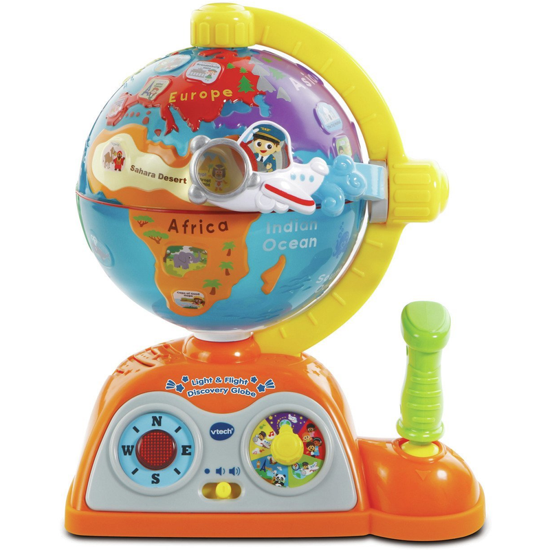 VTech Light Up Interactive Discovery Globe - Leeval Shop Direct