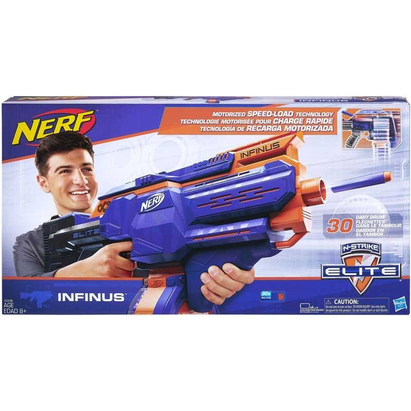 NERF INFINUS BLASTER - Leeval Shop Direct