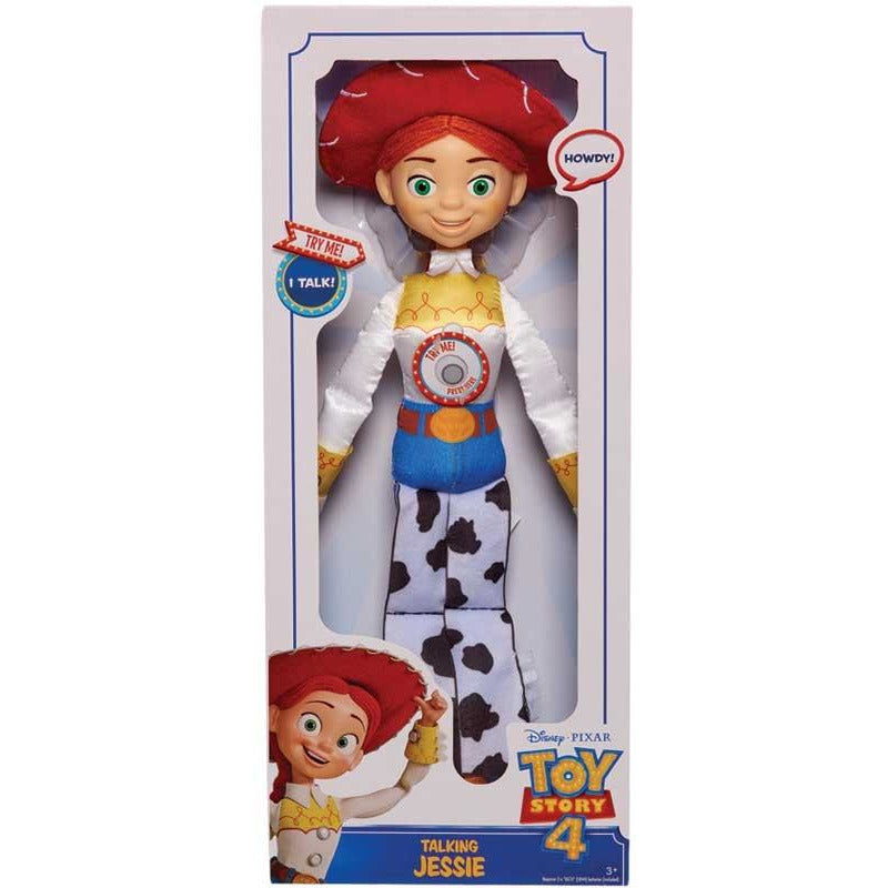TOY STORY 4 LARGE TALKING PLUSH - JESSIE - Leeval Shop Direct