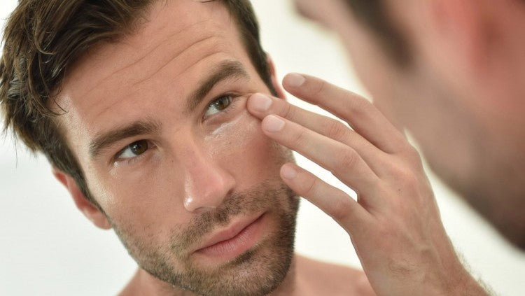 The weekend repair routine for men's skin