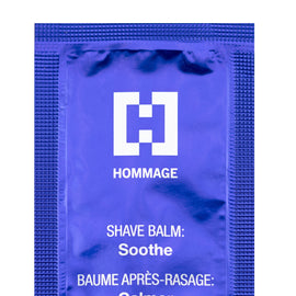 Sample Sachet - Shave Balm SOOTHE (2ml), Accessory