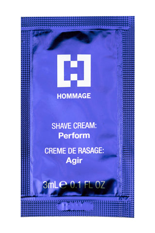 Sample Sachet - Shave Cream PERFORM (3ml)