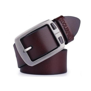 Stylish Casual Leather Belt - My Buy iO