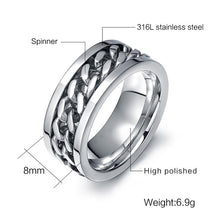 Chain Link Fashion Ring - My Buy iO