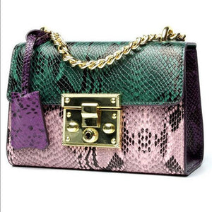 Bag Layd Nightlife Leather Chain Crossbody Bag