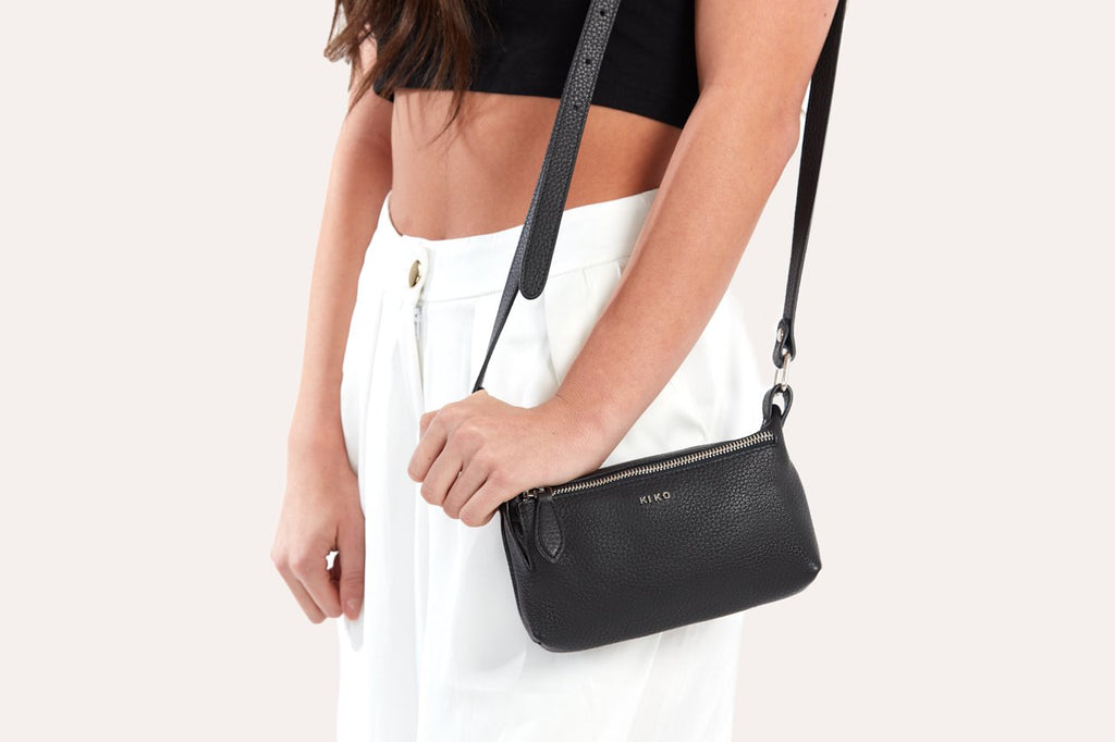 KIKO Leather Simple Crossbody