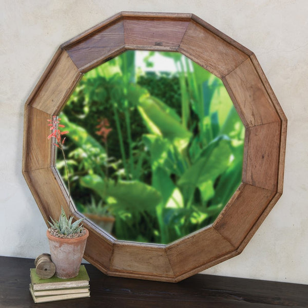 Euclid Wood Frame Mirror