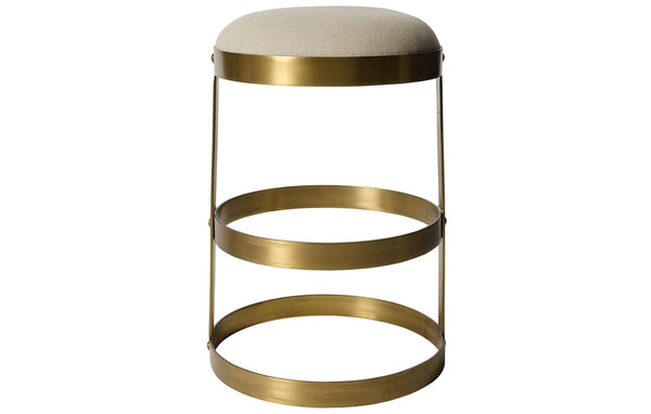 Dior Brass Counter Stool