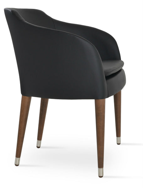 Buca Wood Arm Chair