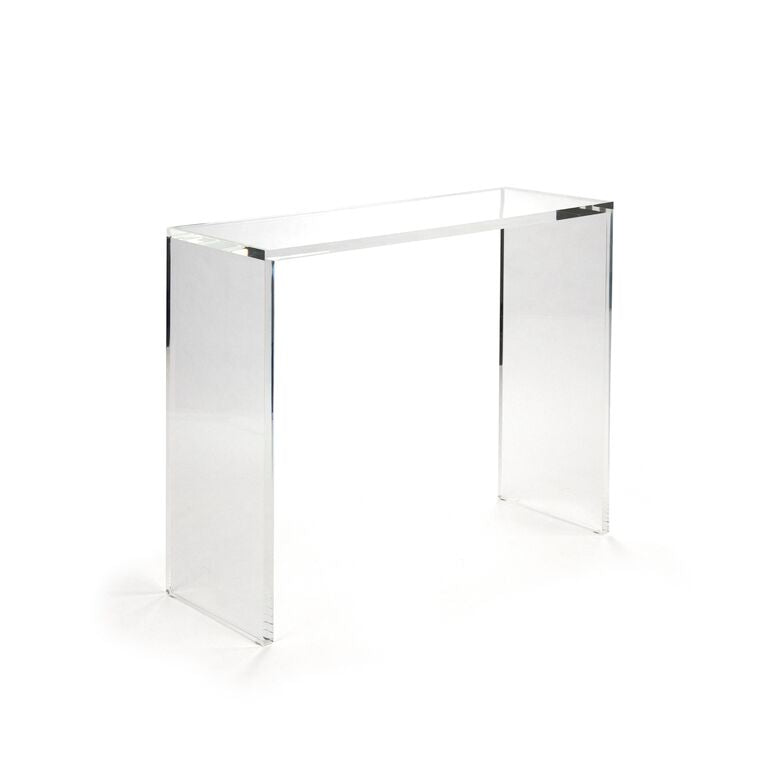 Cleon Acrylic Console (L)