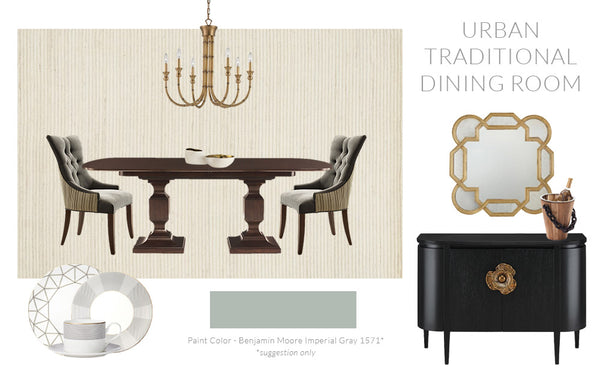 Urban Traditional Dining Room