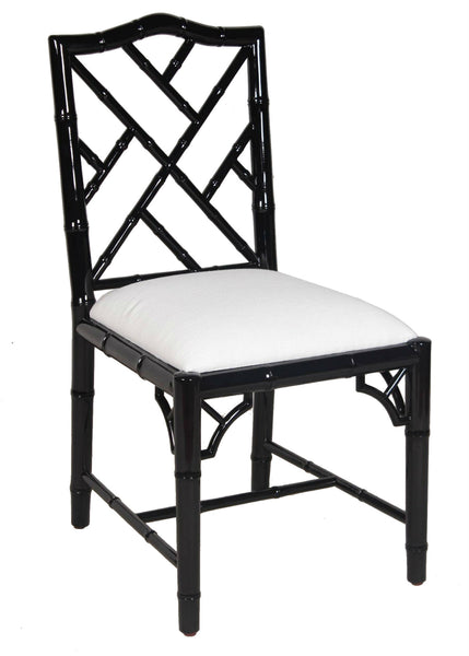 Britton Side Chair - Black Lacquer
