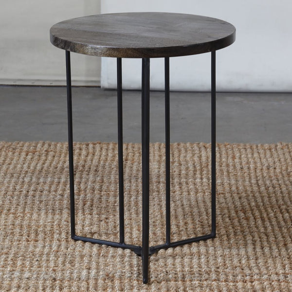 Studio Collapsing Round Table - Grey