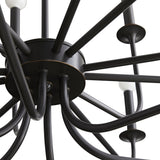 Breck Large Chandelier - Bronze