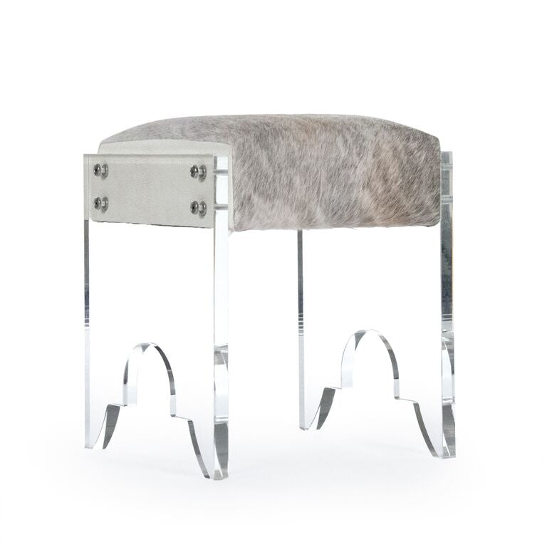 Lars Stool Gray Hide