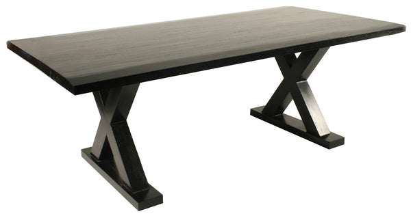 X Dining Table Black