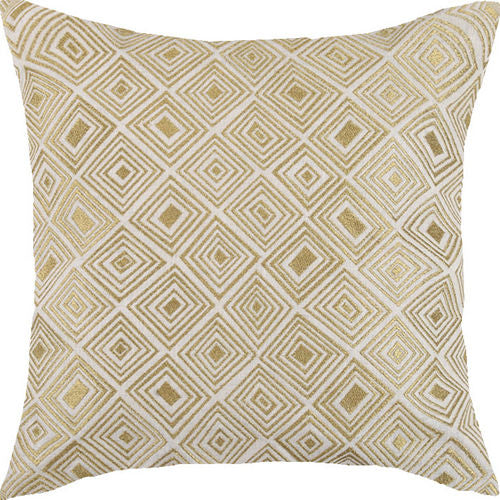 Nomad Gold Embroidered Pillow