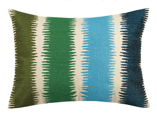 Currents Blue Multi Pillow