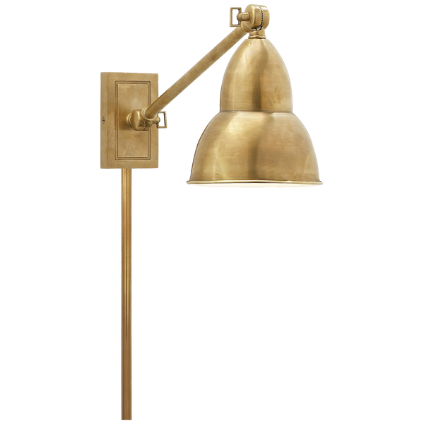 French Library Single Arm Wall Sconce
