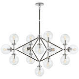 Bistro Oblong Chandelier