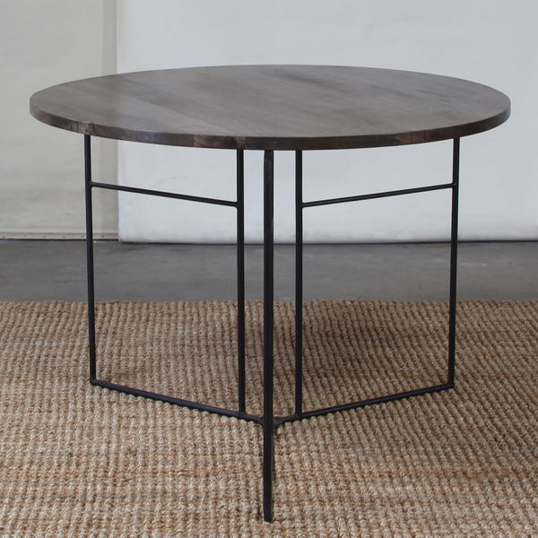 Studio Collapsing Round Side Table - Grey