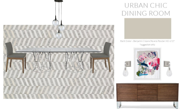 Urban Chic Dining Room