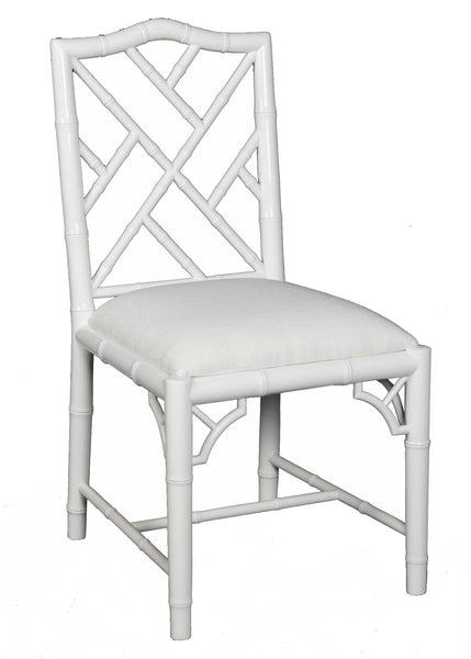 Britton Side Chair - White Lacquer